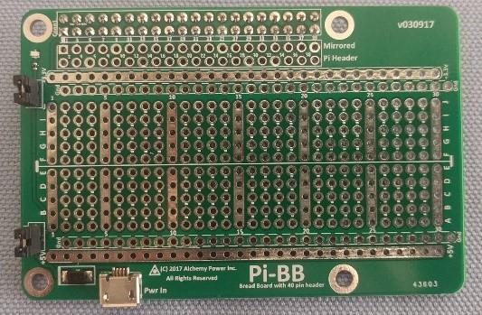 Pi-BB, powered breadboard