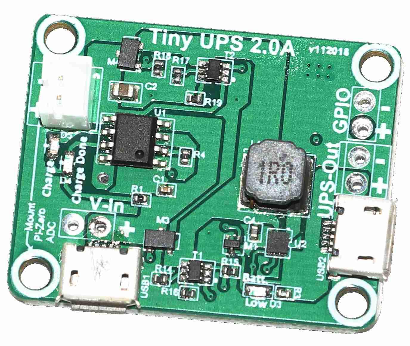 Tiny-UPS - Worlds tiniest UPS with GPIO indicator - Alchemy